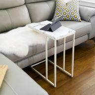 Clio-300-IV-WM  Sofa Desk  (Marble-Look)