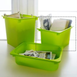 AW62-GR-Medium  Storage Box