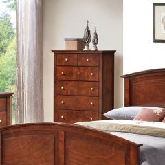 C3136A-030-BRN 5-Drawer Chest