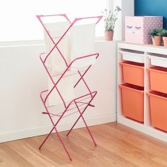 RG5814-Pink Clothes Drying Rack