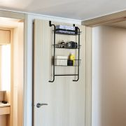 Fassi-3-Black 3-Door Shelf