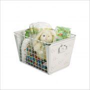 SPC-84400  Macklin Basket Elephant White