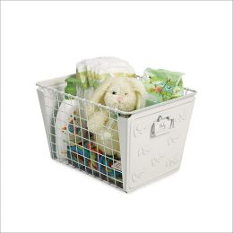 SPC-84400  Macklin Basket Elephant White