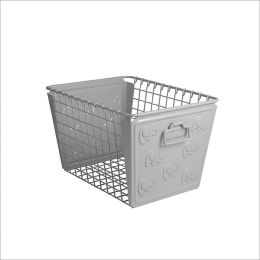 SPC-84437  Basket Elephant Gray