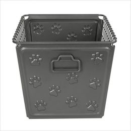 SPC-86476  Basket Paws Industrial Gray