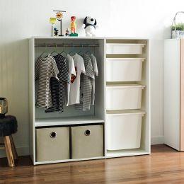 July-100  Open Closet w/ Hanger