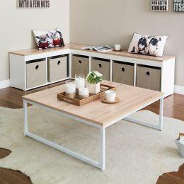 T-790-Ivory-Oak  Coffee Table