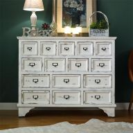 SF24964  Shabby Chic-15 Drawers