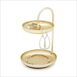 1009706-104 Poise Ring Holder-Brass