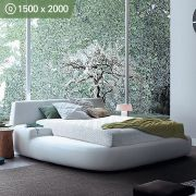 Cloud-7-1500-Luxury Queen  Memory Foam Mattress  (상단)