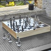 1005304-390  Buddy Chess Set-Natural