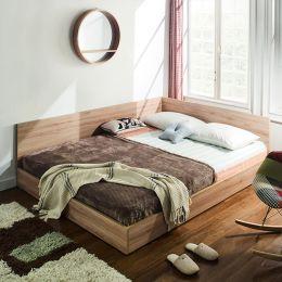 Familia-Q  Queen Panel Bed
