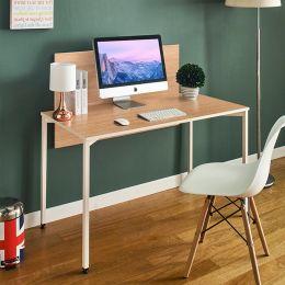 Staple-Ivory-Oak  Metal Desk