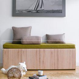 MOF-GREEN Bench Cushion