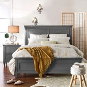 Tamarack-Grey  Queen Panel Bed