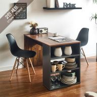 ART-2-Acacia-2BB-B Dining Set  (2인용)   ~의자포함가~(1 Table + 2 Chairs)