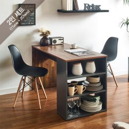 ART-2-Acacia-2BB-B Dining Set  (2인용)   ~의자포함가~(1 Table + 2 Chairs)