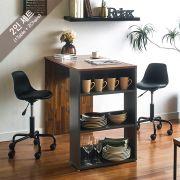 ACT-2-Acacia-Minnie-B Dining Set  (2인용)   (1 Table + 2 Chairs)