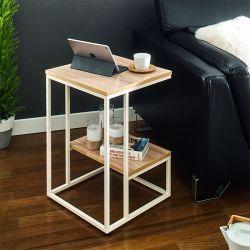 Lexi-Ivy-Oak  Side Table