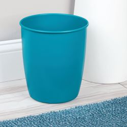 70958EJ  Hamilton Waste Can Matte-Teal
