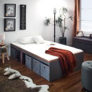 Newport-Aca-1100 Super Single Storage Bed