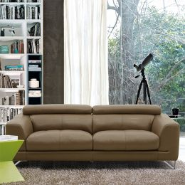 MU-A0030-3S  Leather Sofa