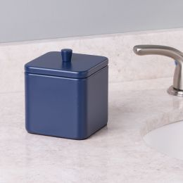 16874EJ Gia Canister-Matte Navy