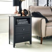 Donna-Black  Side Table