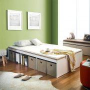 Newport-Vin-900 Single Storage Bed