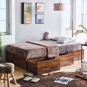 Helen-Acacia-900  Single Storage Bed