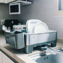 EK9273S-Grey  Dish Rack