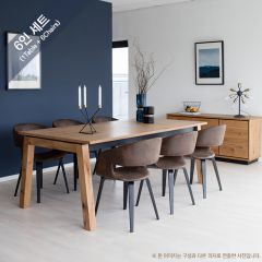 Detroit-6-Manley Dining Set (6인용)