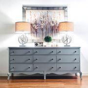 B3572-27W  Nine Drawers Dresser