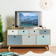 Bonnie-Grey Media Console