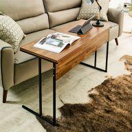 Mona-1000-Blk-Aca Sofa Desk  (H=65cm)