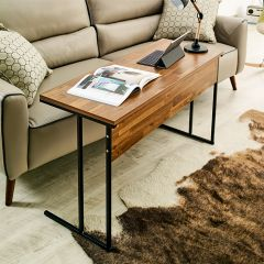 Mona-1000-Black Sofa Desk  (H=65cm)