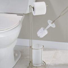 69425EJ  Classico Toilet Tissue Stand & Bowl Brush Combo