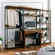 Berkeley-AB Wall Unit w/ Desk  (2 Pcs)