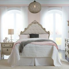Giselle-Q   Queen Panel Bed