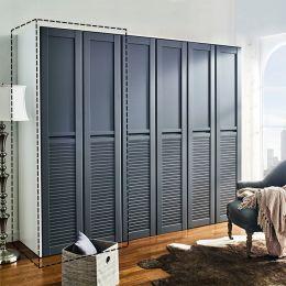 WD-1300-Grey Single Closet