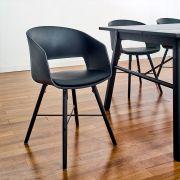Cai-Black-Black Chair