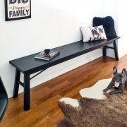Carver-Bench-Black Bench