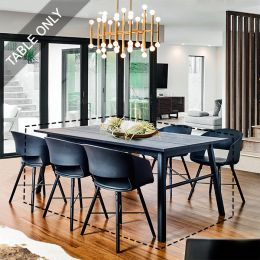 Carver-TB-Black Dining Table (Table Only)