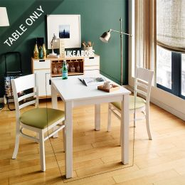 Cabin-2-White-D  Dining Table (Table Only)