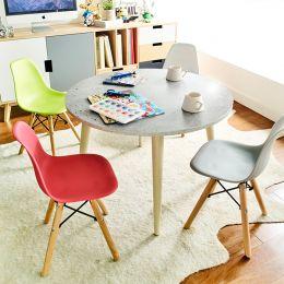 Montessori-Stone  Round Table
