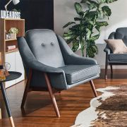 Camello-Grey  Single Chair