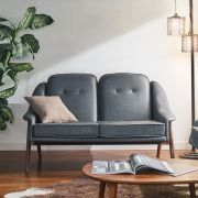 Camello-Grey  2-Seater Sofa