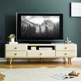 (0)Rora-TV-Ivory  Large TV Stand