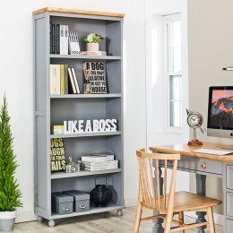 Tara-Grey-BKC  Wooden Bookcase