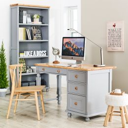 Tara-Grey-Desk Wooden Desk
